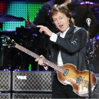 Paul McCartney starts Japan tour after cancellation last May