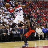 Wizards surprise Raptors, rest of league with sweep