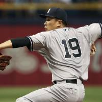 Tanaka excels against Rays