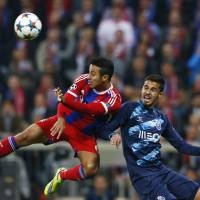 Bayern routs Porto to reach Champions League semifinals