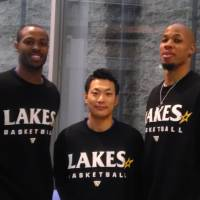 Shiga's Toyama relies on mentor to improve Lakestars
