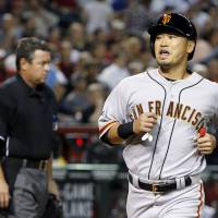 Aoki sparks Giants in victory
