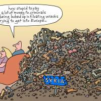 The EU's displacement activity