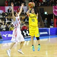 JX-Eneos rally to beat Fujitsu, win seventh WJBL championship