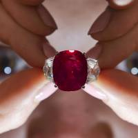 Cartier ruby nets record $30.42 million