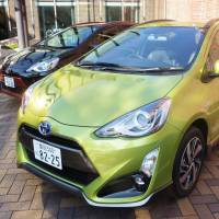 Toyota Aqua hybrid tops sales in April as minicars stumble