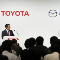 Toyota, Mazda expand tieup to include technology exchanges