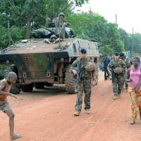 French judges probing claims that peacekeepers raped children in Central African Republic