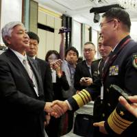 China not seeking conflict in South China Sea, admiral says