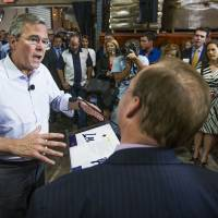 On second thought, Jeb Bush says he wouldn't have invaded Iraq