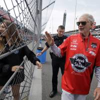 Indy 500 team pays tribute to retiring TV show host David Letterman