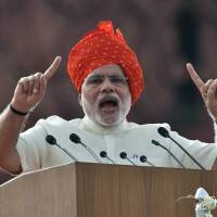 India's Modi marks year in office