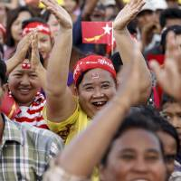 Unpopular but defiant, Myanmar's ruling party unfazed about poll prospects