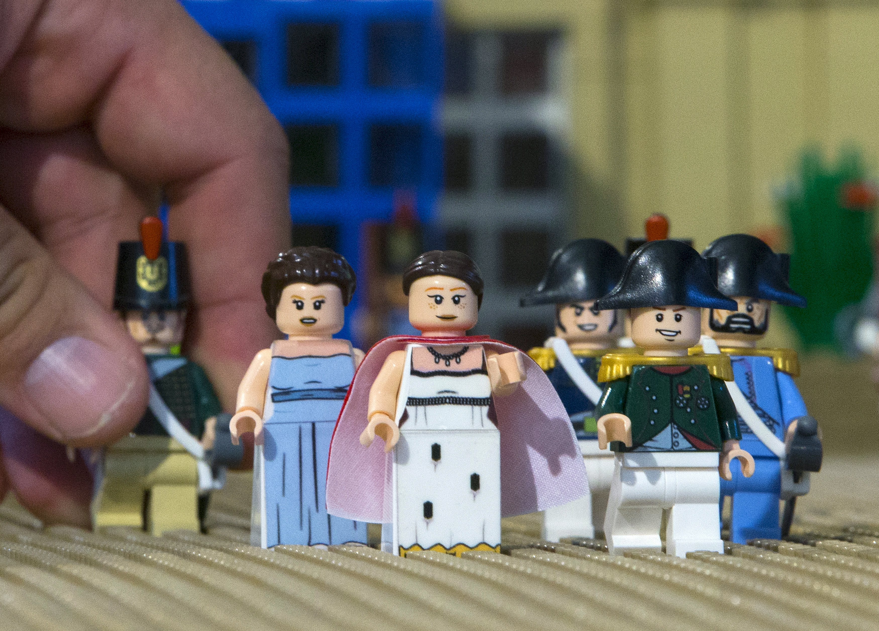 Napoleon 39 s life rebuilt with legos for waterloo for Siege lego france