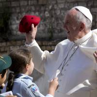 I'm old, ailing, too, pope tells elderly and sick