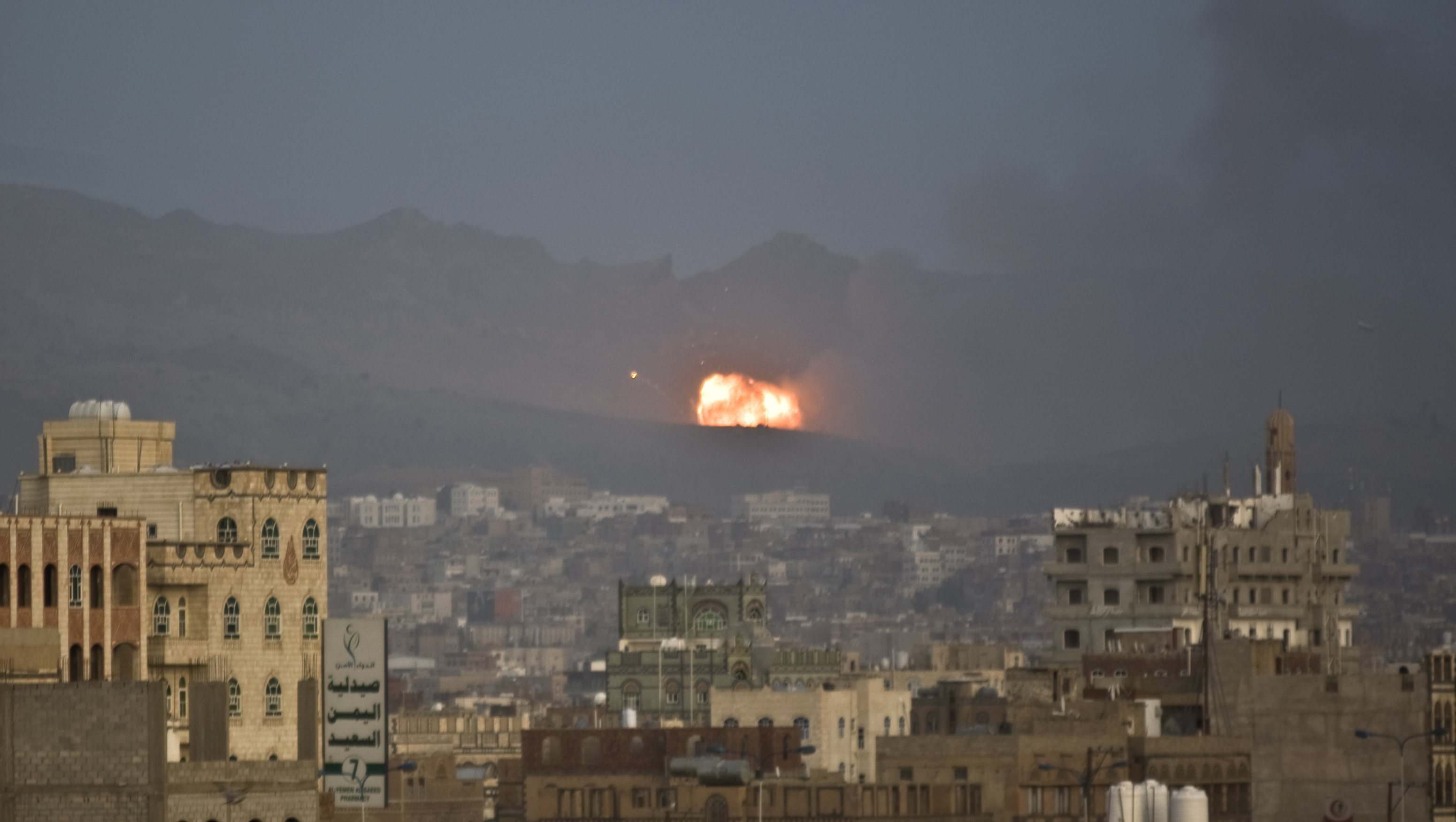 Saudi-led airstrikes on Sanaa heaviest since cease-fire ...