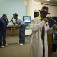 The power of karaoke on Skid Row