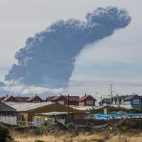 Chile's Calbuco volcano erupts again with new cloud of ash