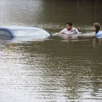 At least 15 killed in Texas, Oklahoma storms; Houston flooded
