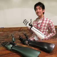 Robot arm startup taps 3-D printers in quest to make  prosthetics affordable