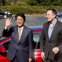 Abe pushes innovation, investment in Silicon Valley tour
