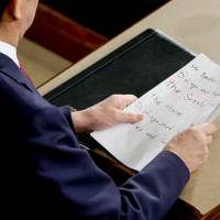 Abe on message, but regional tensions remain