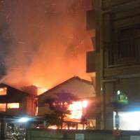 At least two killed in predawn fire at Kawasaki hostels