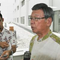 Okinawa governor to visit U.S. to air opposition to military base transfer