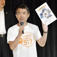 Osaka reorganization polling at 47.8% against, 39.5% for