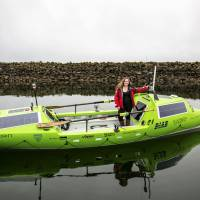 American woman ready to row solo from Japan to U.S.