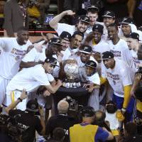 Warriors back in NBA Finals for the first time in 40 years