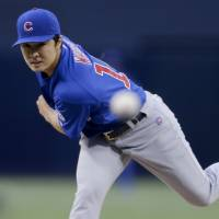 Wada makes mark in first outing of season with Cubs