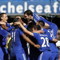 Chelsea claims Premier League title after five-year wait