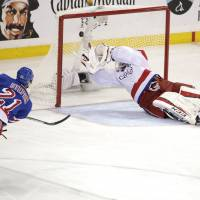 Stepan scores winner for Rangers in Game 7