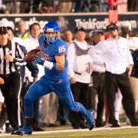Boise St. tight end Huff relishing time in Japan with Hosei