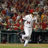 Harper belts two more homers