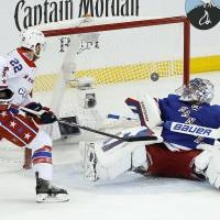 Rangers stay alive with overtime win
