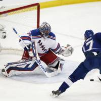Lundqvist, Rangers even series