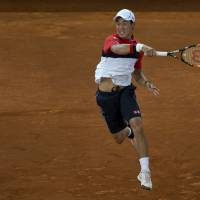 Kei powers into Madrid semis