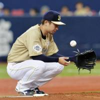 Kiyota, Marines spoil Kaneko's long-awaited return to mound
