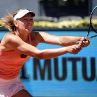 Sharapova reaches third round of Madrid Open