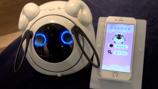 [VIDEO] OHaNAS: talking robot by Tomy and NTT docomo