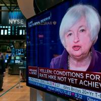 Yellen signals Fed rate hike this year but mum on timing