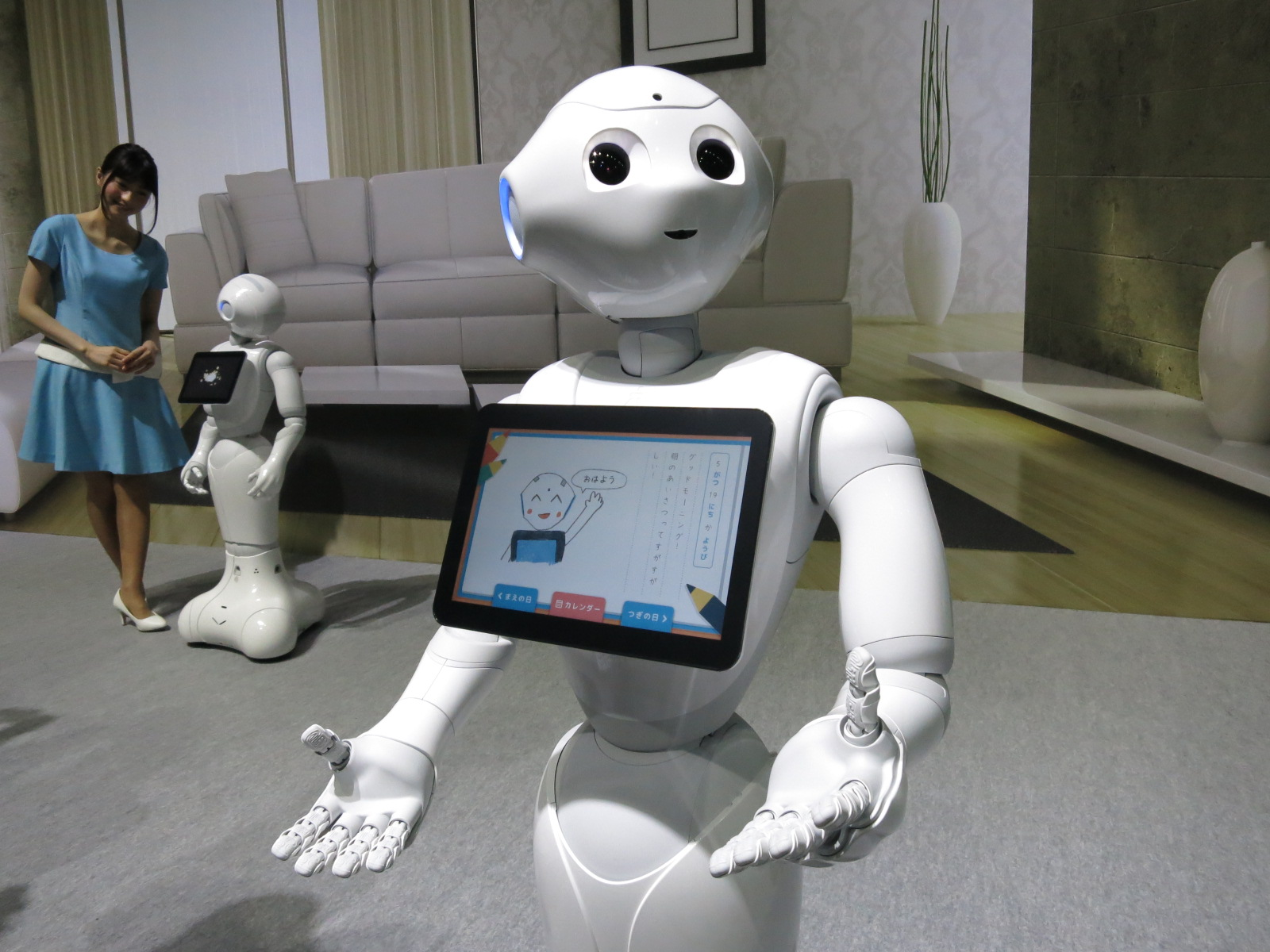 Pepper Humanoid Robots Sell Out In Japan In Just One Minute
