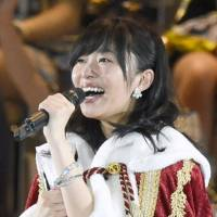 Rino Sashihara crowned amid tears and jeers at AKB election