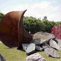 Anish Kapoor's Versailles sculpture is vandalized