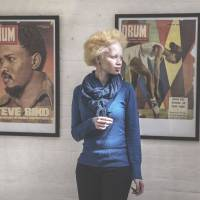 S. African model revels in her albinism
