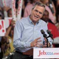 Jeb Bush declares run, pitches optimism, vows to get Washington to stop causing trouble