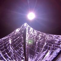 After failed attempts, privately funded spacecraft finally spreads solar sails