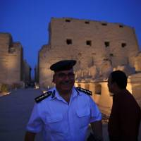 Suicide bomber, gunman killed in foiled attack on popular ancient Luxor temple Karnak
